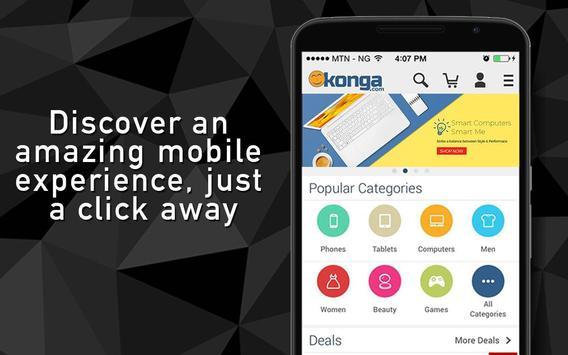 Konga Online Marketplace poster