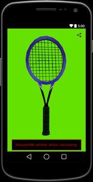 Tennis Racket Simulator apk screenshot