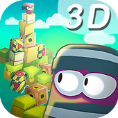3D save monster icon