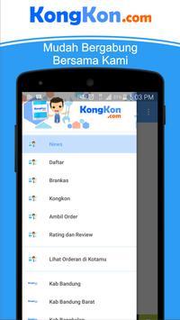 KongKon.com Kerja Itu Mudah apk screenshot
