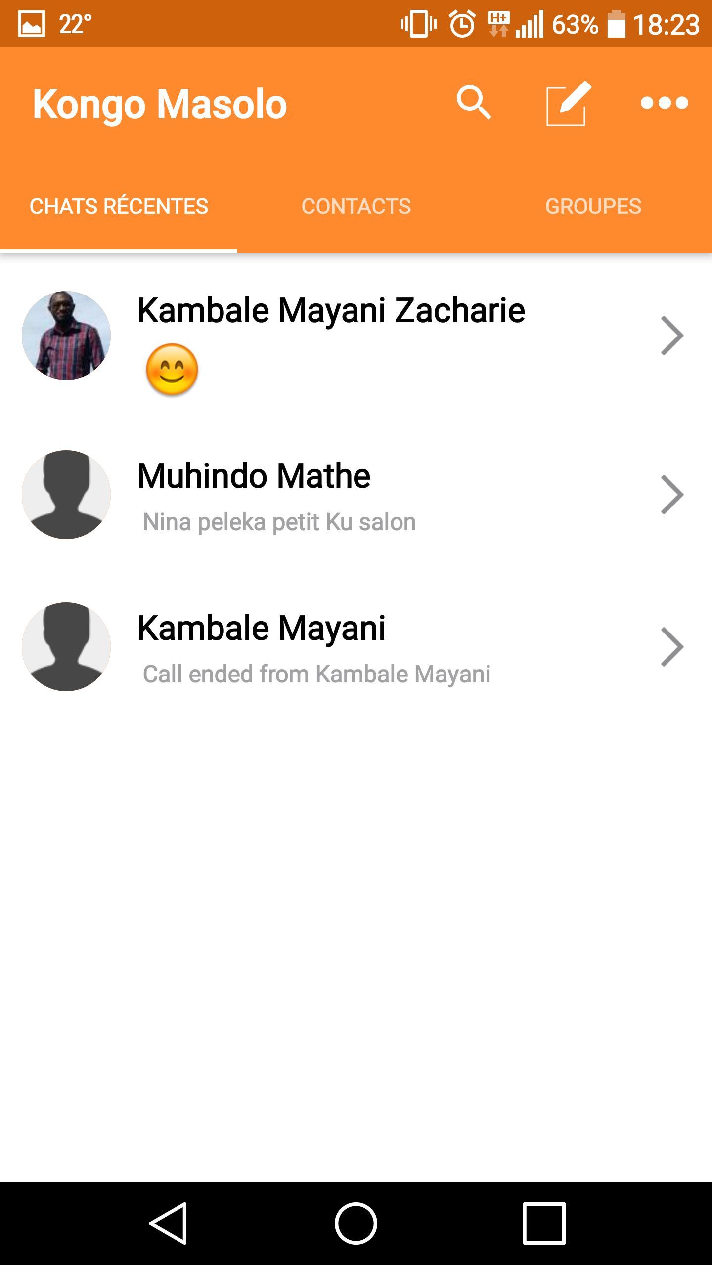 Kongo Masolo poster