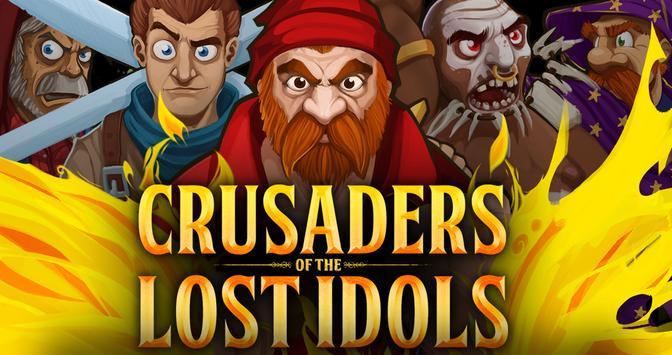 Crusaders of the Lost Idols poster