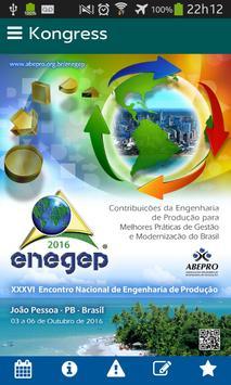 Kongress (edição ENEGEP) poster