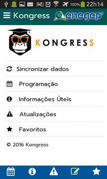 Kongress (edição ENEGEP) apk screenshot