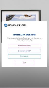 Konica Minolta Experience poster