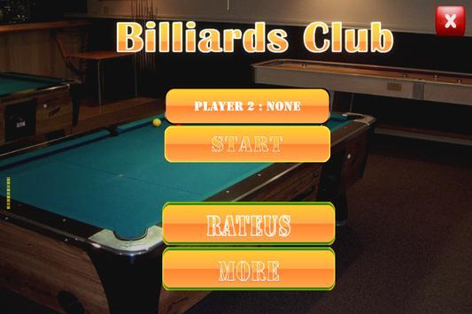 Billiards Pool Hall 2018 apk screenshot