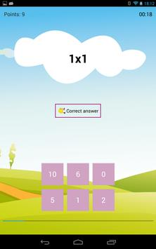Easy multiplication apk screenshot