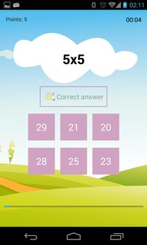 Easy multiplication poster