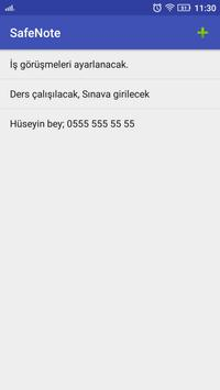 SafeNote screenshot 1