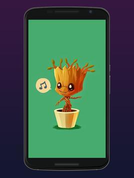 Cute Groot Wallpaper HD Live screenshot 2