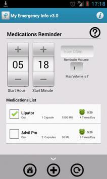 My Emergency Info apk screenshot