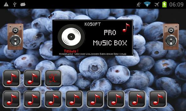 Pro Music Box screenshot 4