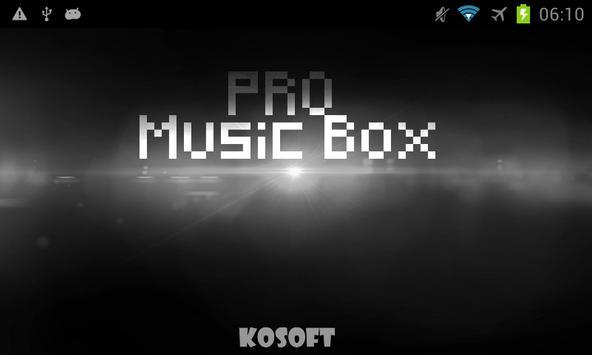 Pro Music Box poster