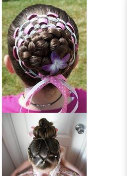 Косички плетение детям screenshot 1