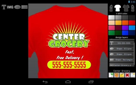 T-shirt Designer screenshot 2