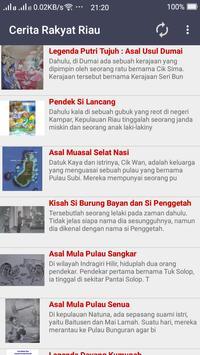 Cerita Rakyat Riau poster