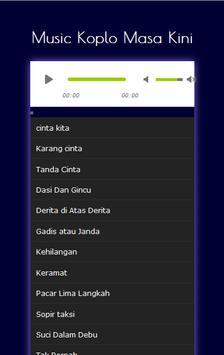 Music Koplo Masa Kini apk screenshot