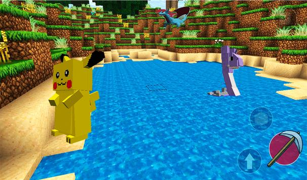 Pixelmon world 3D: Story mod apk screenshot