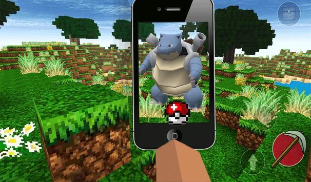 Exploration Pixelmon Craft 3D apk screenshot