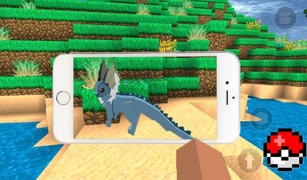 Mine pixelmon world: online PE apk screenshot
