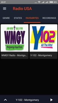 Radio USA Online Free All stations apk screenshot