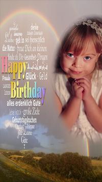 Happy Birthday Photo Frames screenshot 1