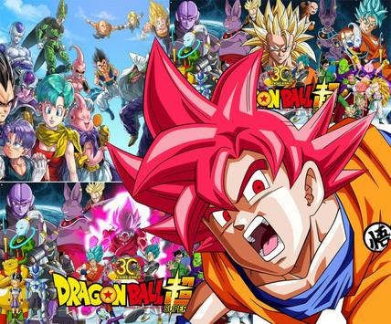 DragonBall Wallpaper Anime HD Super Sayan Apk Screenshot