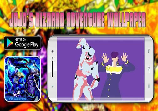 Jojo's Fanart Bizarre Adventure Live Wallpaper ★ screenshot 3