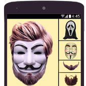 Anonymous mask Photo Maker Pro icon