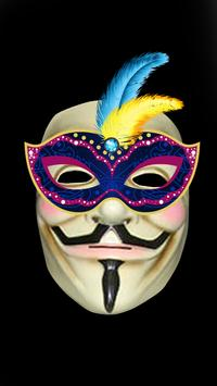 Anonymous mask Photo Maker Pro screenshot 1