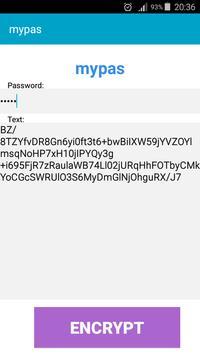 Mypas (Strong Encryption) apk screenshot