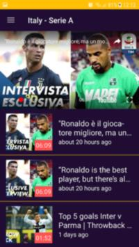 أهداف المباريات المباشرة screenshot 1