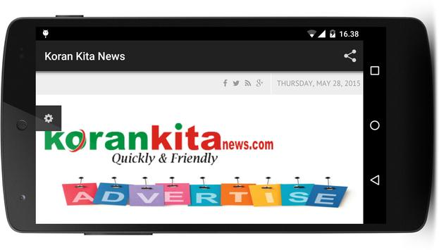Koran Kita News apk screenshot