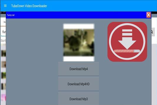 tubedown free video downloader screenshot 1