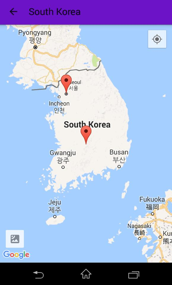 South Korea Map and Geography for Android - APK Download on joseon korea map, gwangju korea map, korea's tumen river map, hallasan korea map, hwaseong korea map, bucheon korea map, pyeongtaek korea map, osan korea map, daegu korea map, sejong city korea map, republic of korea war map, lotte world korea map, panmunjom korea map, ulsan korea map, kyoto korea map, incheon korea map, gimcheon korea map, usfk korea map, seoul map, pusan map,