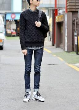 Korean Men Street Style screenshot 3