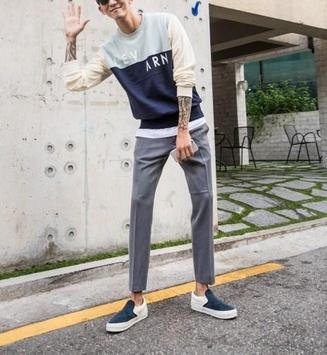 Korean Men Street Style screenshot 5