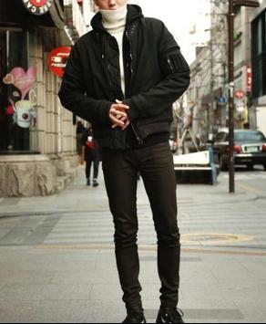 Korean Men Winter Style poster
