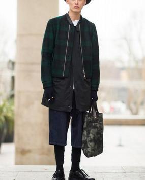 Korean Men Winter Style screenshot 10
