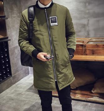 Korean Men Winter Style screenshot 1