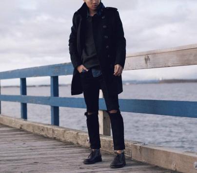 Korean Men Winter Style screenshot 7