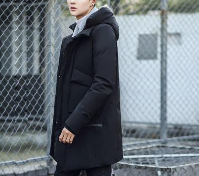 Korean Men Winter Style screenshot 8