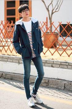 Korean fashion for men screenshot 2