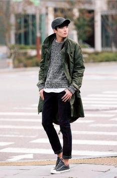 Korean fashion for men screenshot 5