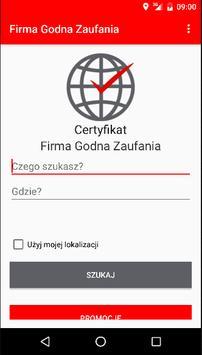 Firma Godna Zaufania poster