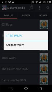 Alabama Radio - Stations screenshot 3