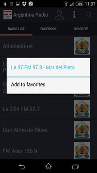 Argentina Radio - Estaciones screenshot 5