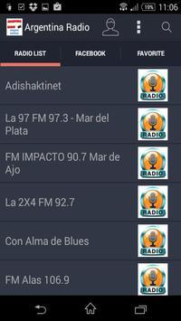 Argentina Radio - Estaciones poster