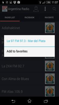 Argentina Radio - Estaciones screenshot 1