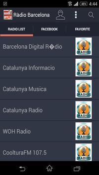 Estacions de Ràdio Barcelona poster